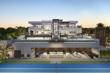 Luxury development with modern and contemporary design