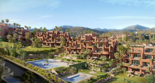 Facade1-Luxury-apartments-New-Development-Nueva Andalucia-Marbella-Costa-del Sol