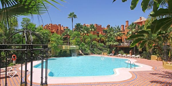 Pool.Luxury Apartments in Marbella. Puerto Banus