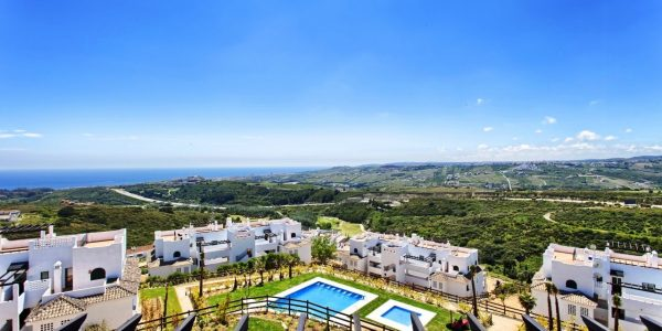Pool-views-New-development-casares-apartments-for-sale-Costa-del-sol-apartments-penthouses-for-sale-casares