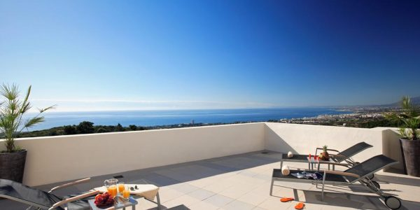 Terrace-views-Los-Monteros-Luxury-apartments-Costa-del-sol-Marbella