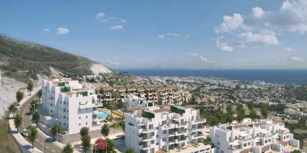 Development-new-modern-for-sale-Benalmadena-penthouses-Costa-Del-Sol-Leiligheter-til-salgs