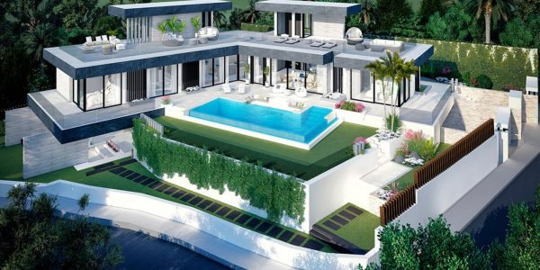 for-sale-villa-sea-views-marbella-estepona-benahavis-costa del sol-stunnig-modern-high-quality-luxury-til-salg-new-development-style-residencial-area-close-to-sea-top
